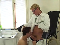 Nice Lookng Man Enjoys Getting Fucked By His Doctor